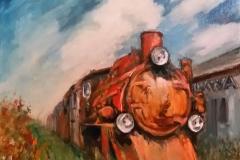 stara lokomotywa 2014