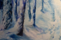 zima w lesie 2013