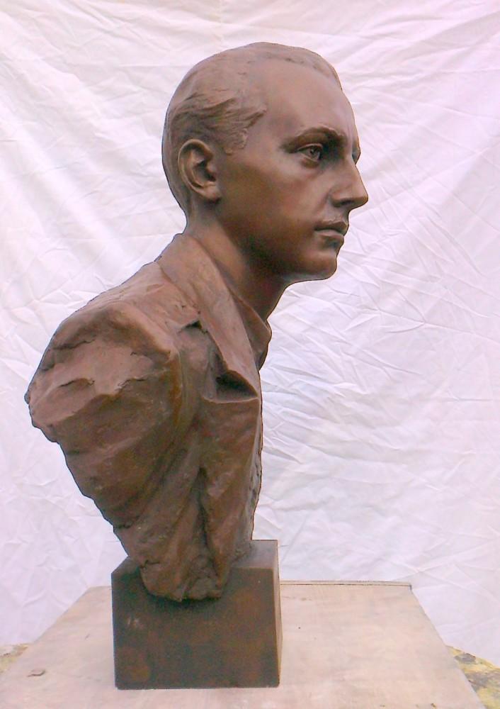 Jan Rodowicz ps.Anoda, detal projektu pomnika